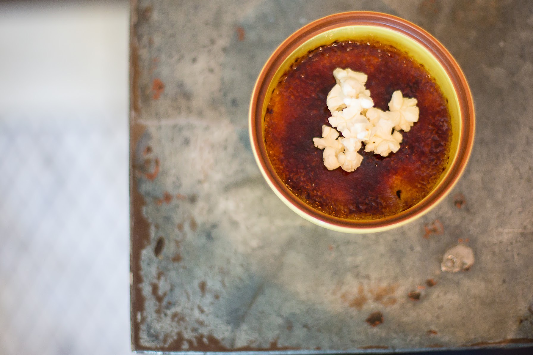 Popcorn Crème Brûlée