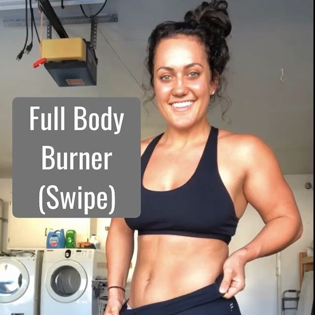 FREE Full Body Workout below 👇🏽⁣⁣ ⁣⁣ Sometimes we need a little help from a coach putting together a workout that's going to get our hearts pumping & muscles working 😜⁣⁣ ⁣⁣ Below you'll find a quick, but effective full body workout you can perform at the gym or home if you've got some equipment⁣⁣ ⁣⁣ Superset 1⁣⁣ • SLDL 3x12ea⁣⁣ • SA shoulder press 3x15ea⁣⁣ ⁣⁣ Superset 2⁣⁣ • box squat 3x10-15⁣⁣ • inverted row 3x6-8 (work your way up to 12)⁣⁣ ⁣⁣ Superset 3⁣⁣ • Face pull 3x15⁣⁣ • knee banded elevated glute bridge 3x25⁣⁣ ⁣⁣ As always, moves can be progressed or regressed with less or more reps, different inplements like kettlebells, a barbell, or just household items. Make it your own & tag me if you try it!⁣⁣ ⁣⁣ P.S. Tag your workout buddy you wanna get schweatttty with 💪🏽🤪🔥