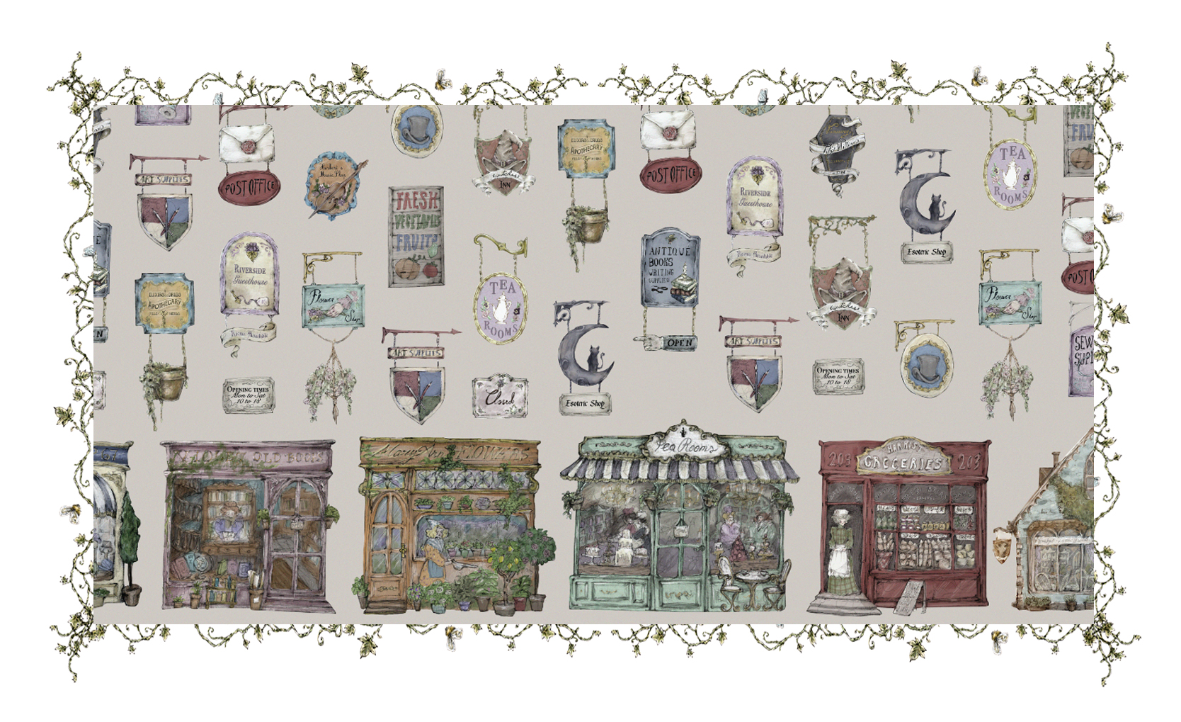 The Charming Town - Print Series