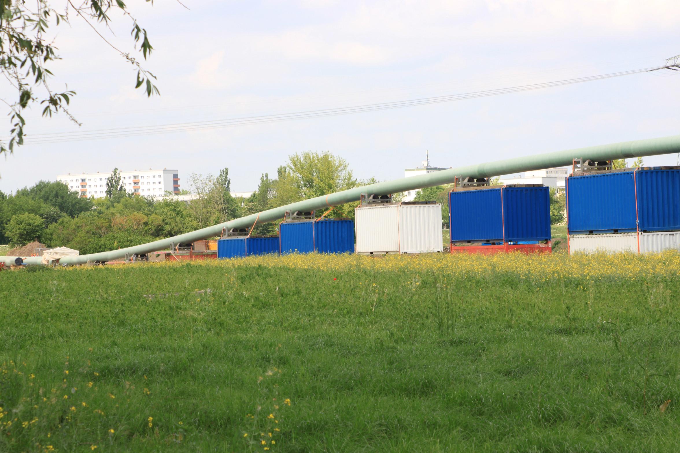 ArcelorMittal Stahlhandel GmbH & Brochier Rohrleitungsbau Nürnberg GmbH - Germany