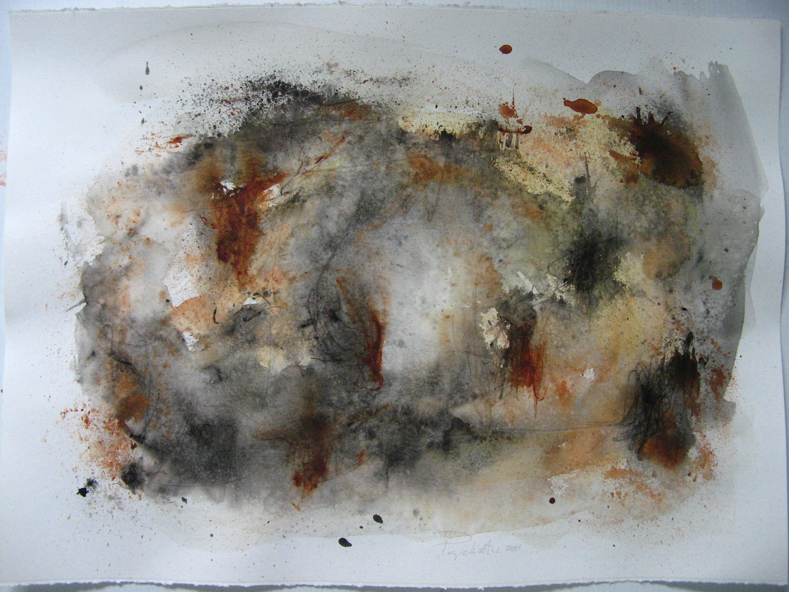 2011, mixed media on paper, 55.88 x 76.20cm (22 x 30in.) IMG_1953.JPG