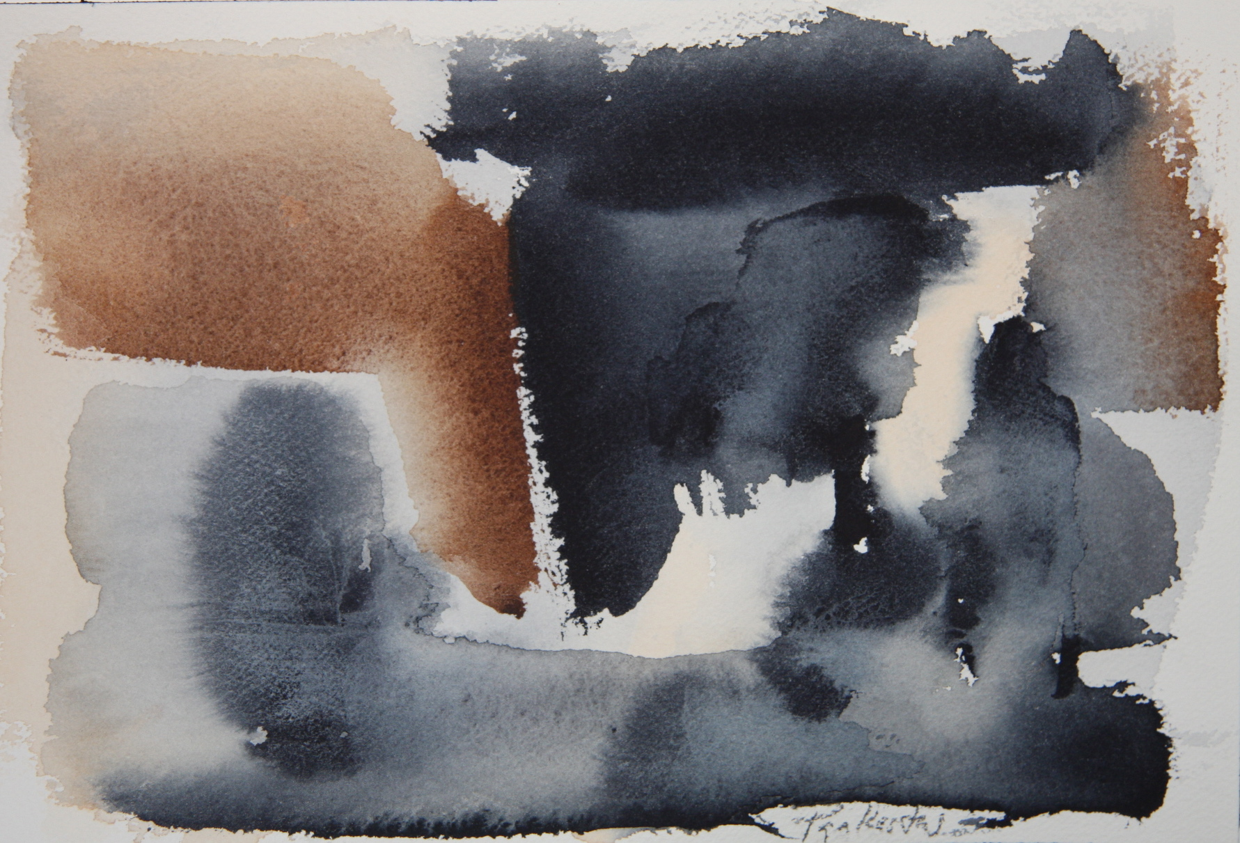 A matter of Being (no.2) - 2012, watercolour on paper 17.78 x 25.40cm (7 x 10in.) IMG_1068.JPG