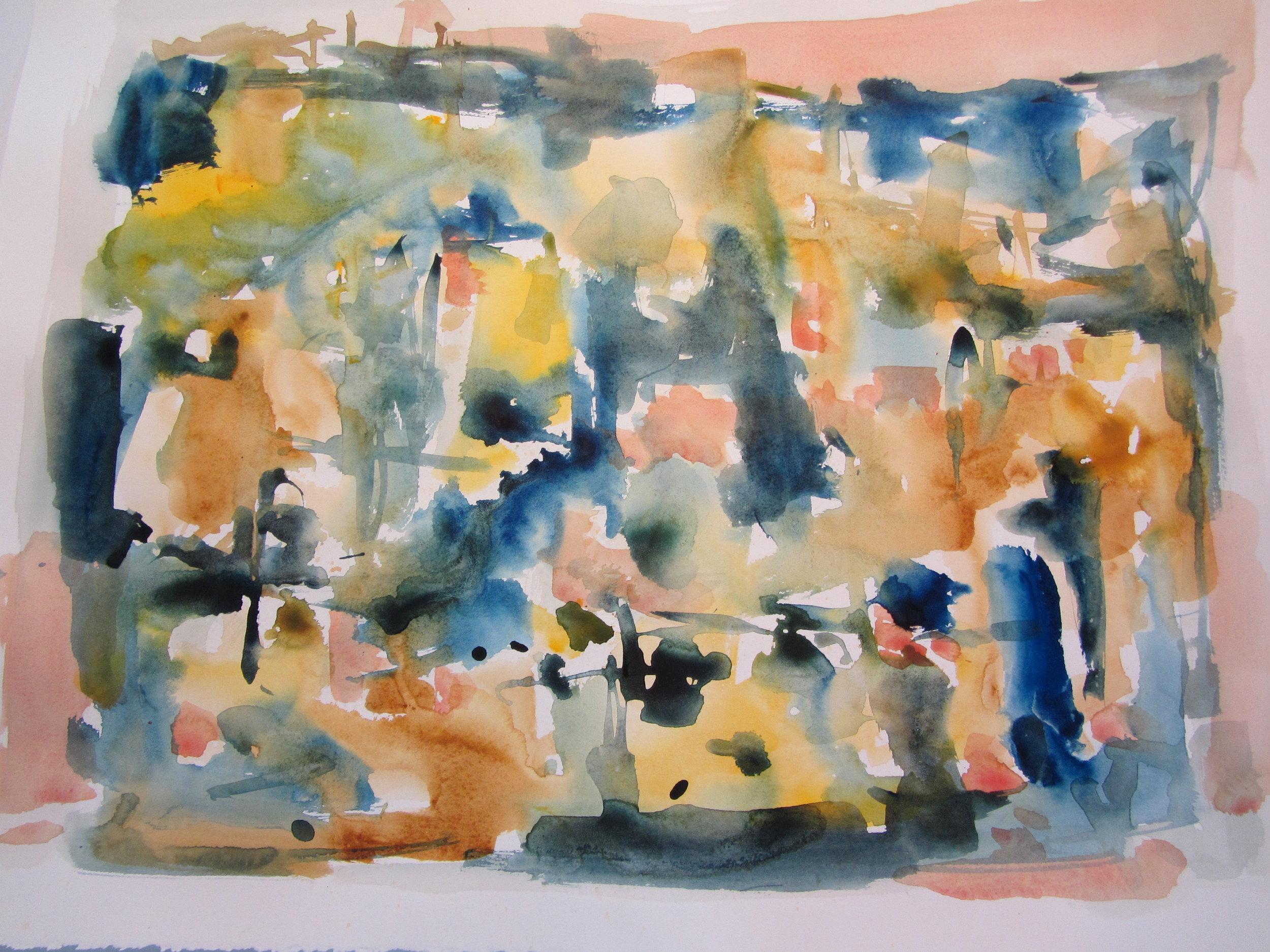 2012, watercolour on paper 58.42 x 76.20cm (23 x 30in.) -  IMG_0014 .JPG