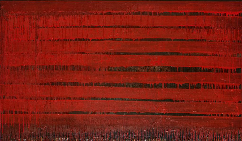 #2276-DemetriosPapakostas.com-Lines of Red 45 x 77in. Oil-canvas.jpg