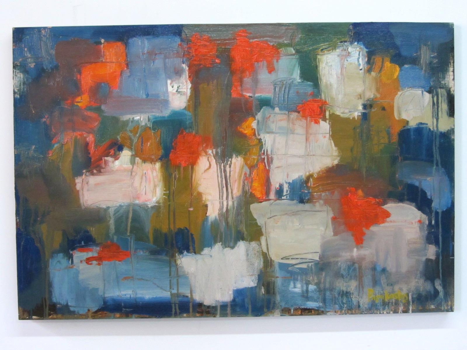 IMG_# DP0330- Some Orange Spots, 2010  oil on wood (24 x 36in.) 0128.JPG