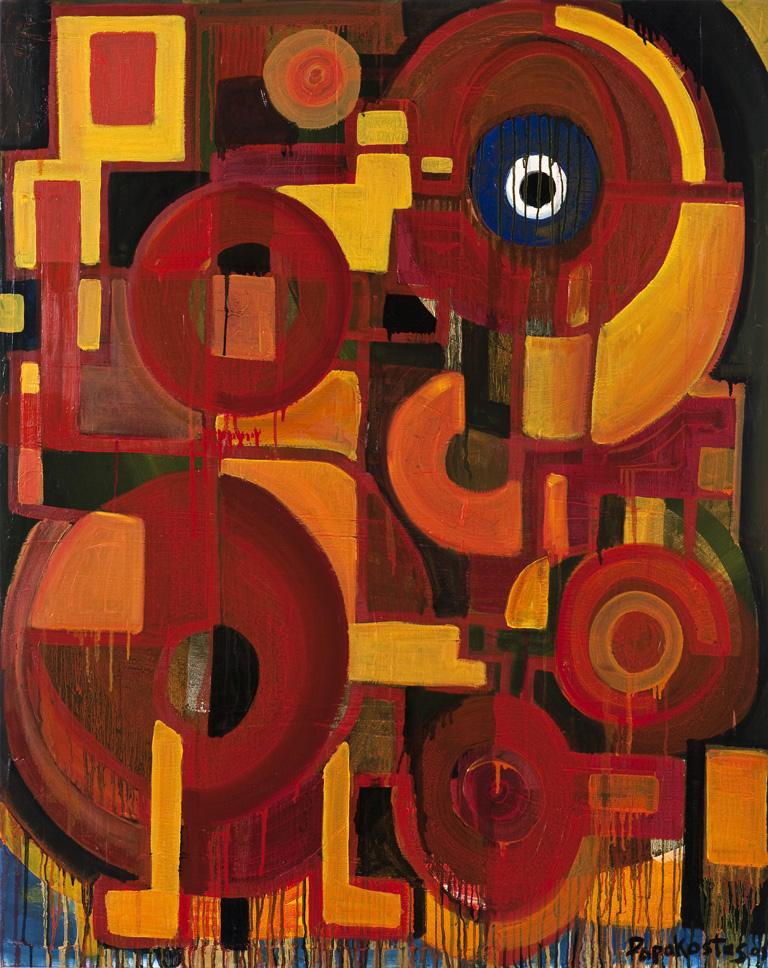 #DP2295 - Evil eye  2008, oil on canvas 152 x 121cm (60 x 48in.).jpg