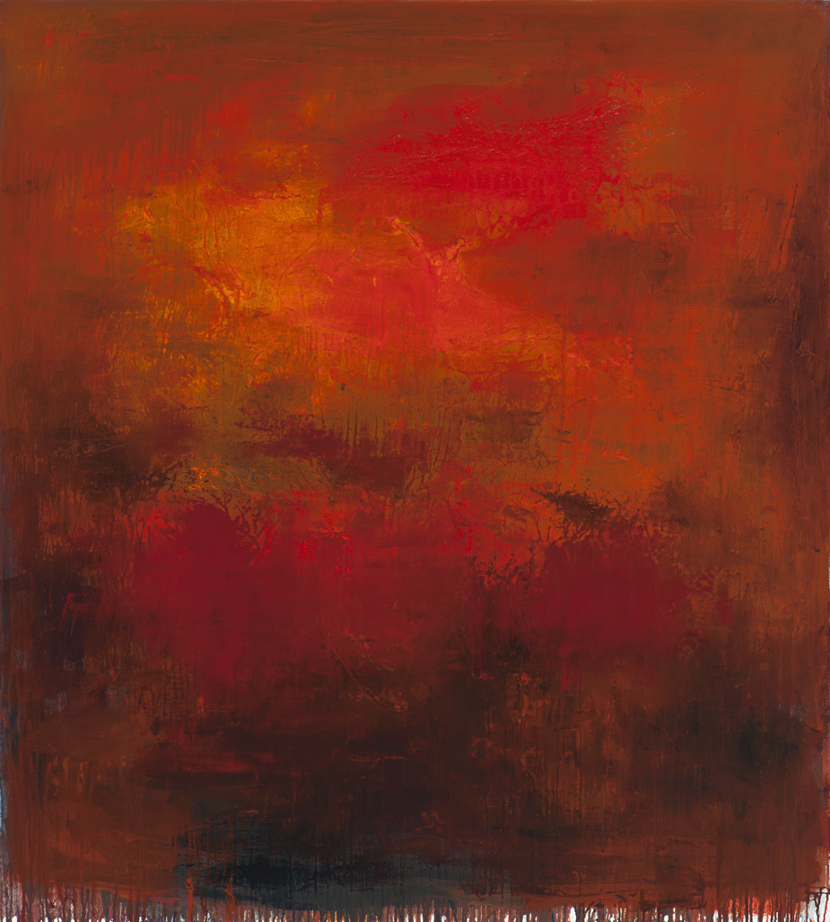 #DP7969 – Earth's Dream 2012, oil on canvas (60 x 54in.)  4560. DP7969_.jpg