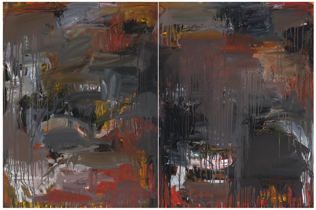 #DP7995 Heating Up 2010-11, oil on canvas (48 x 72in.) diptyque.jpg