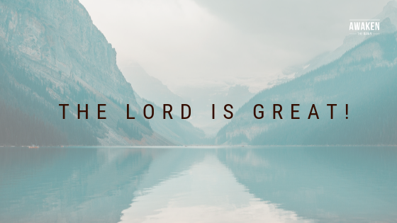 the Lord is great!.png