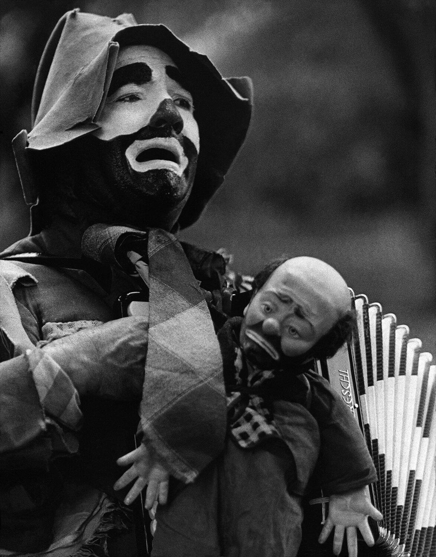 street clown . . . central park, NYC