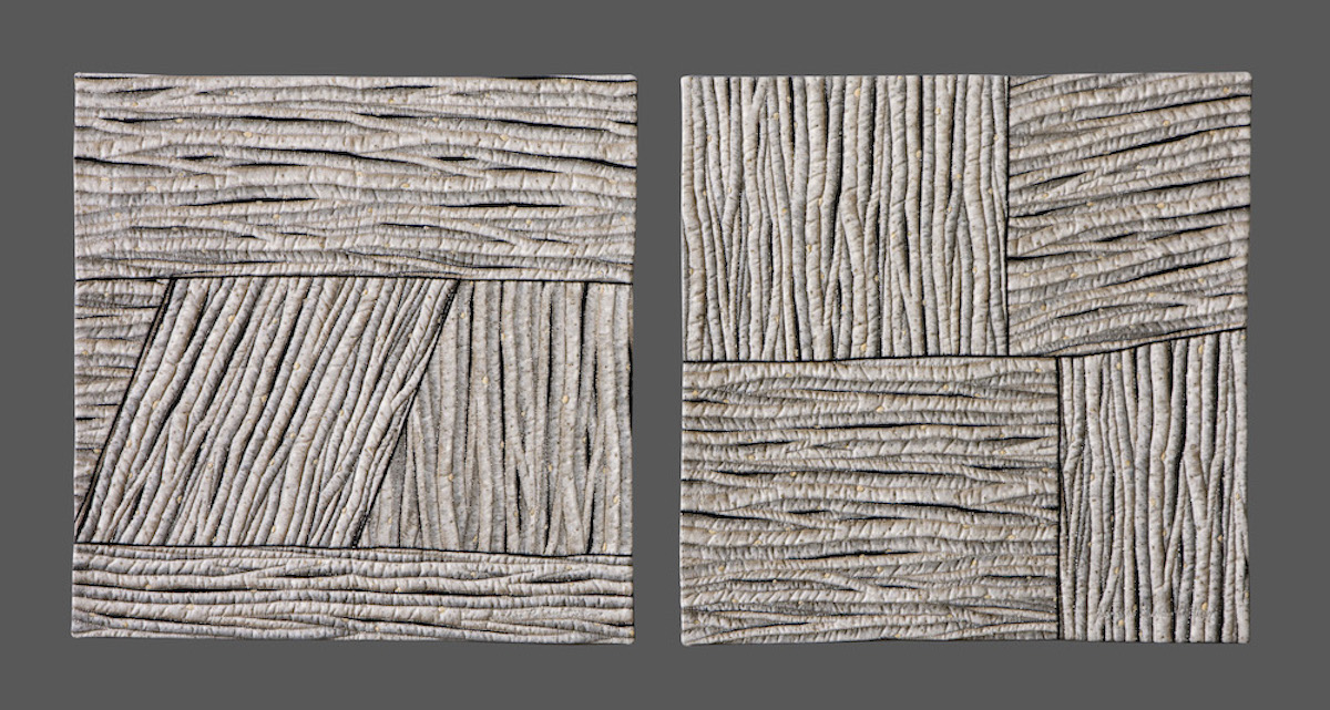 River Birch (diptych) | © 2009 | 17 x 17 each panel