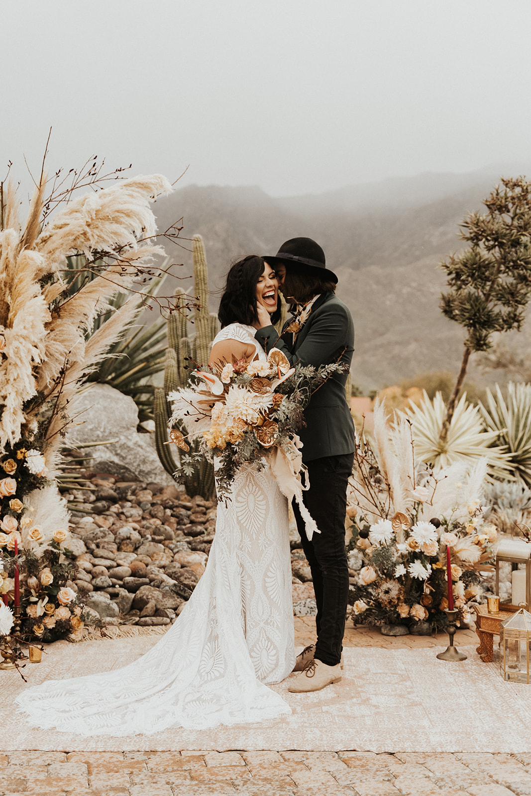 Desert Shootout Pond Estate Wedding