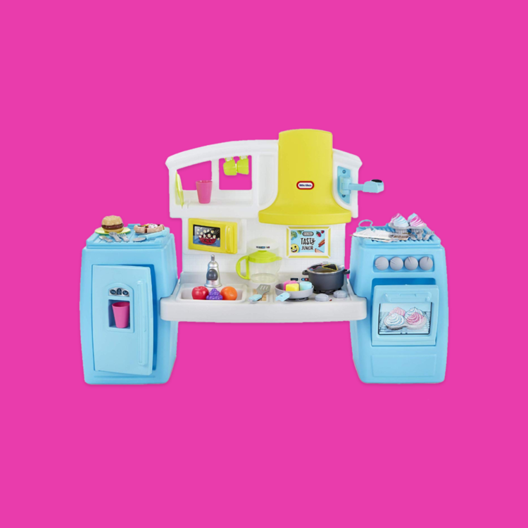 Toys For a New Generation - We worked with Little Tikes to create the most adorable play kitchen and food sets.