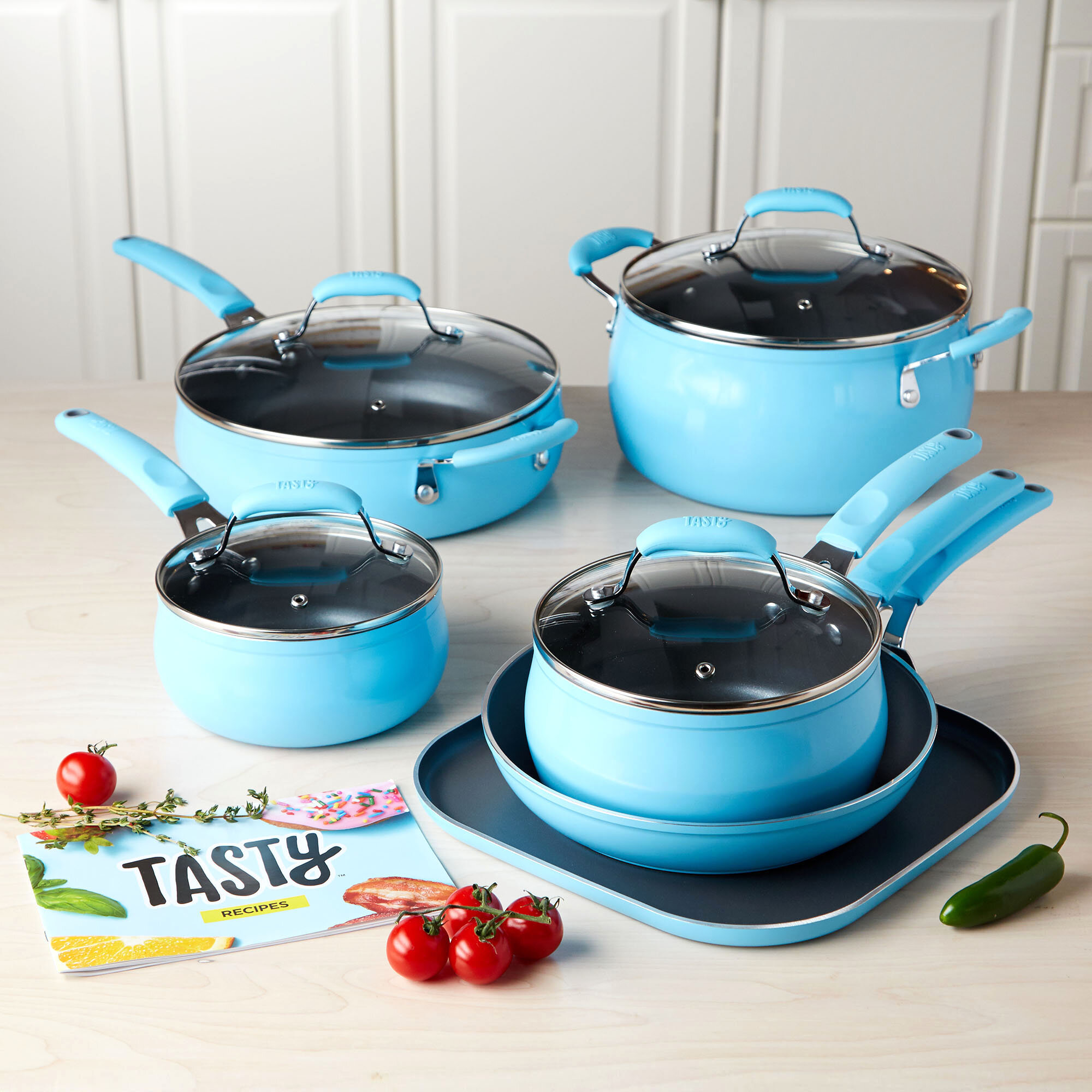 11PC Blue Kitchen set - $79