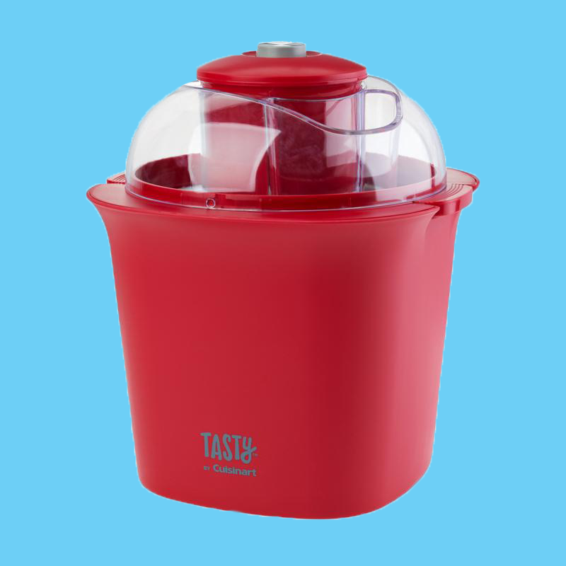 Tasty Ice Cream Maker - Make any kind of ice cream, simply and deliciously.