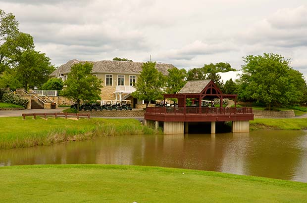 Our  Gazebo  is a unique feature to Klein Creek Golf Club. Located between the 9th & 10th holes the Gazebo offers a relaxing spot to sit and enjoy a beverage, snack or simply the beautiful view.