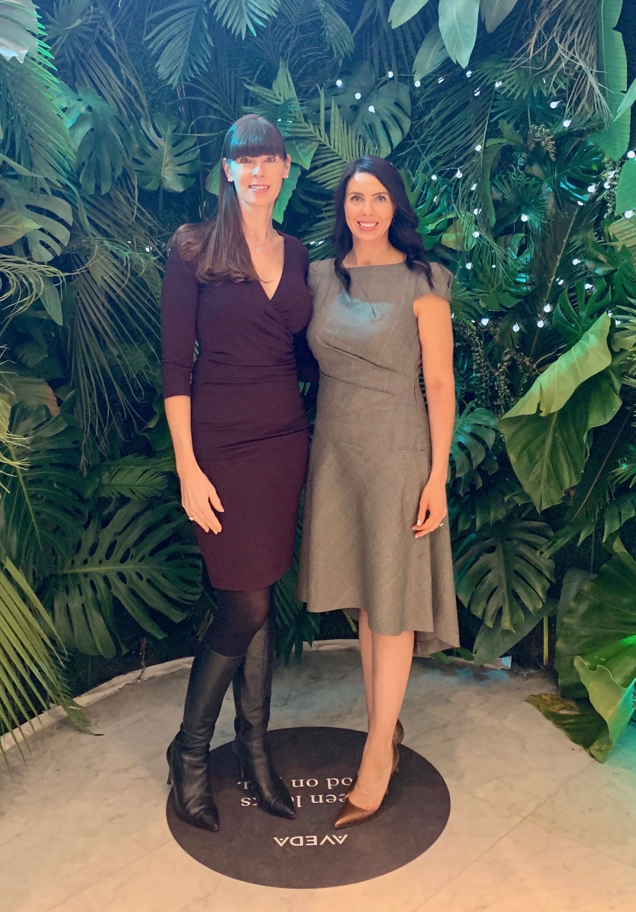 Meghan Marsden who is one of the founders of Veil Intimates was a speaker at Sustainable Business & Design Conference at FIT on April 3rd, 2019 and she wore KetiVani Custom dress. Nancy Trangmar, her business partner, wore KetiVani Ready to Wear knit dress. What an honor.  .