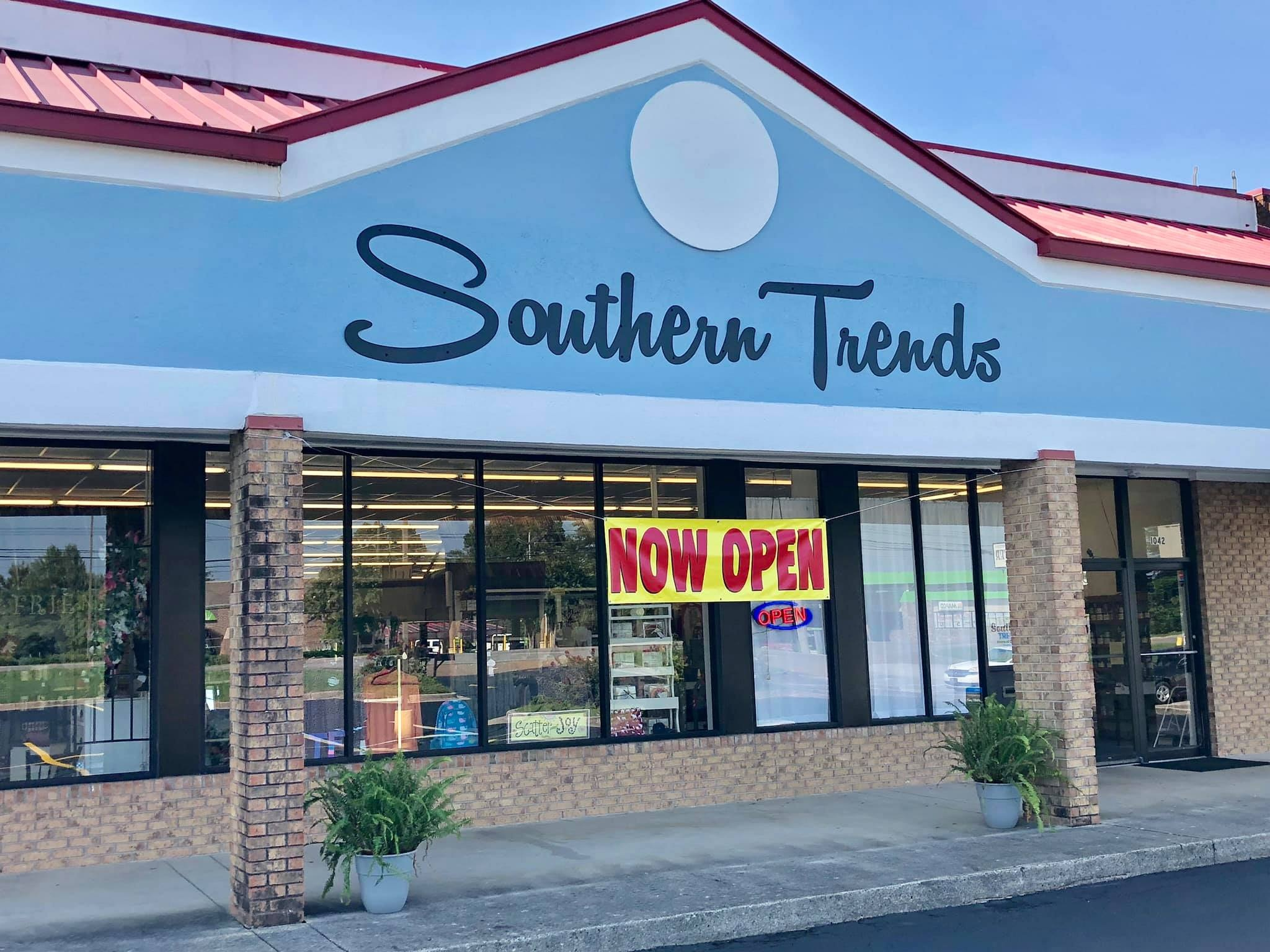 Southern TrendsTuesday-Sunday 10am-6pm1042 Winchester Rd, Huntsville, AL 35811 -