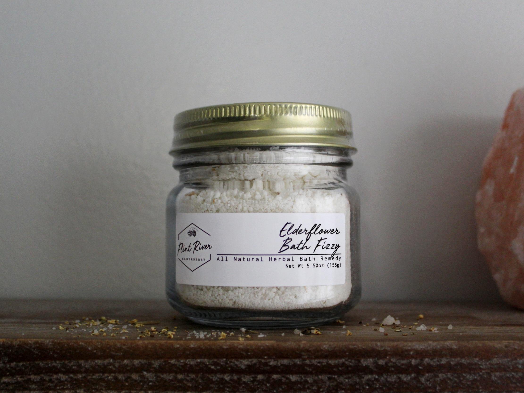 Elderflower Fizzy Bath Soak