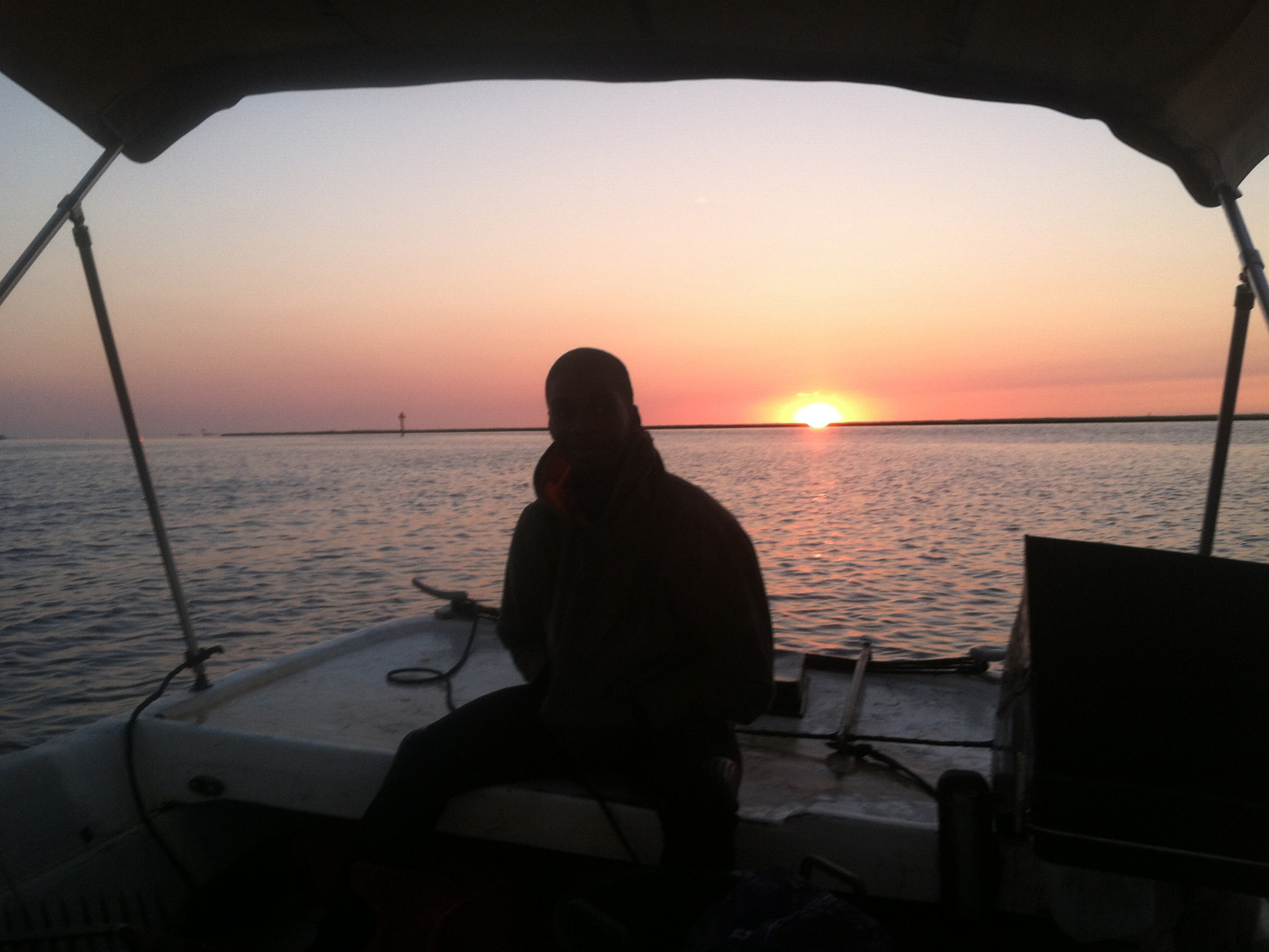 Clammers see a lot of sunrises. Photo courtesy of Scales.