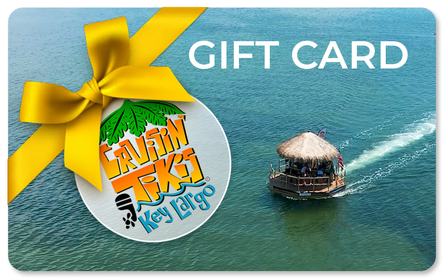 Cruisin' Tikis Key Largo gift cards are now available!