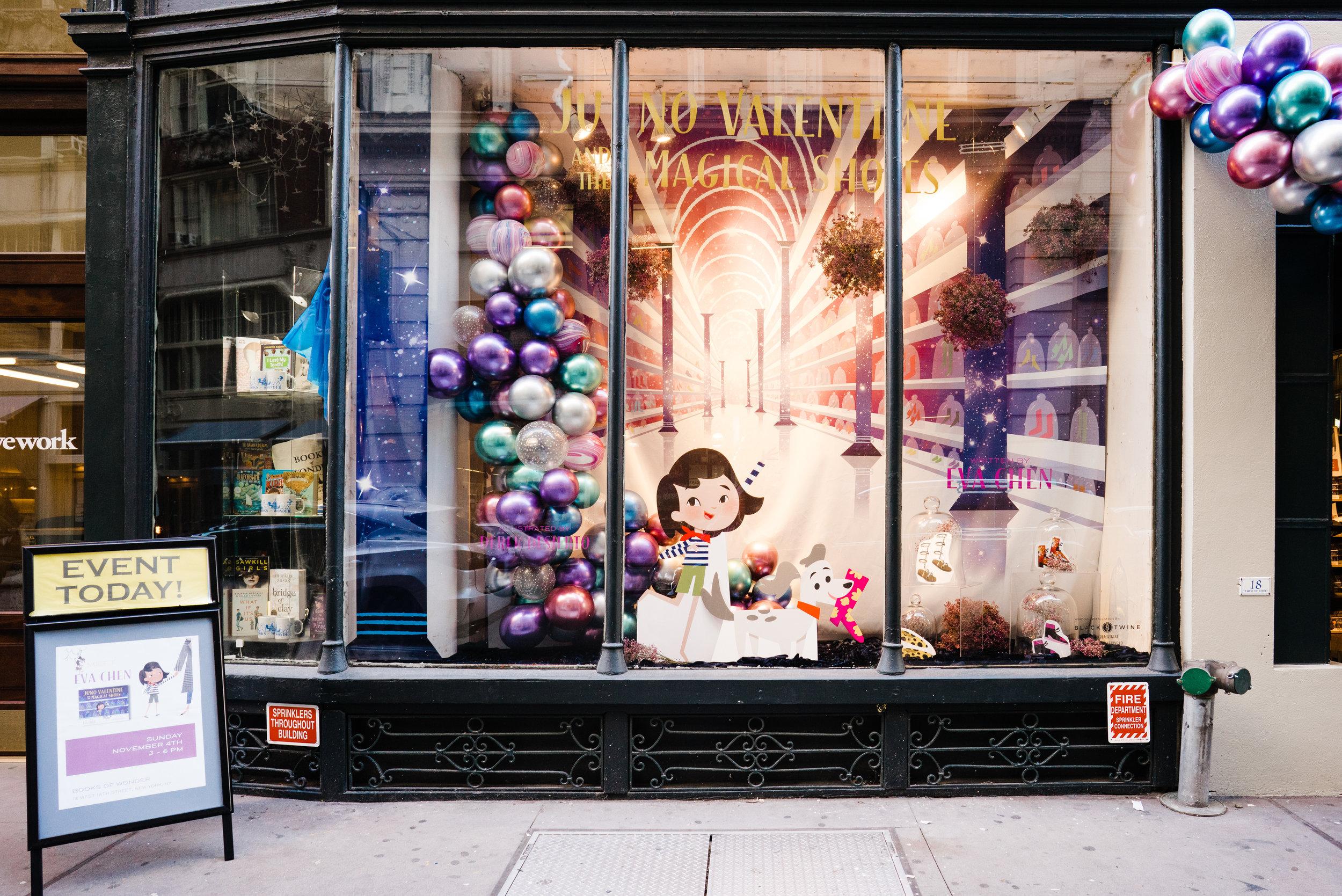 Juno valentine book launch - Multi-city book tour and live activation for Eva Chen's Juno Valentine