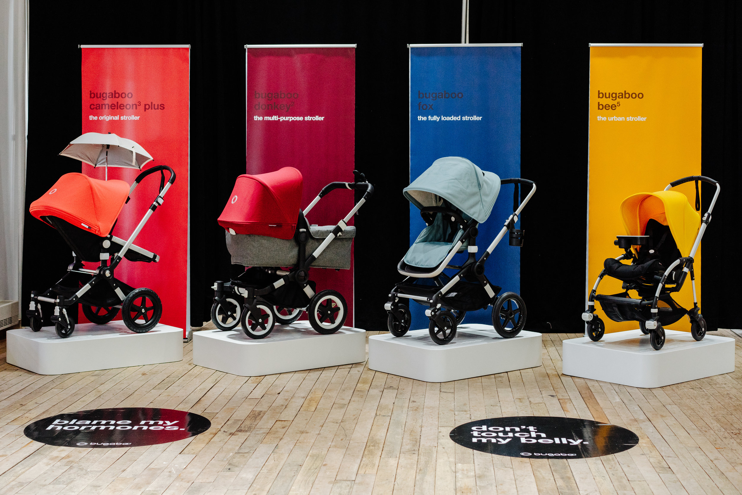 BUGABOO NEW PRODUCT LAUNCH - Press event to announce the launch of new Bugaboo strollers