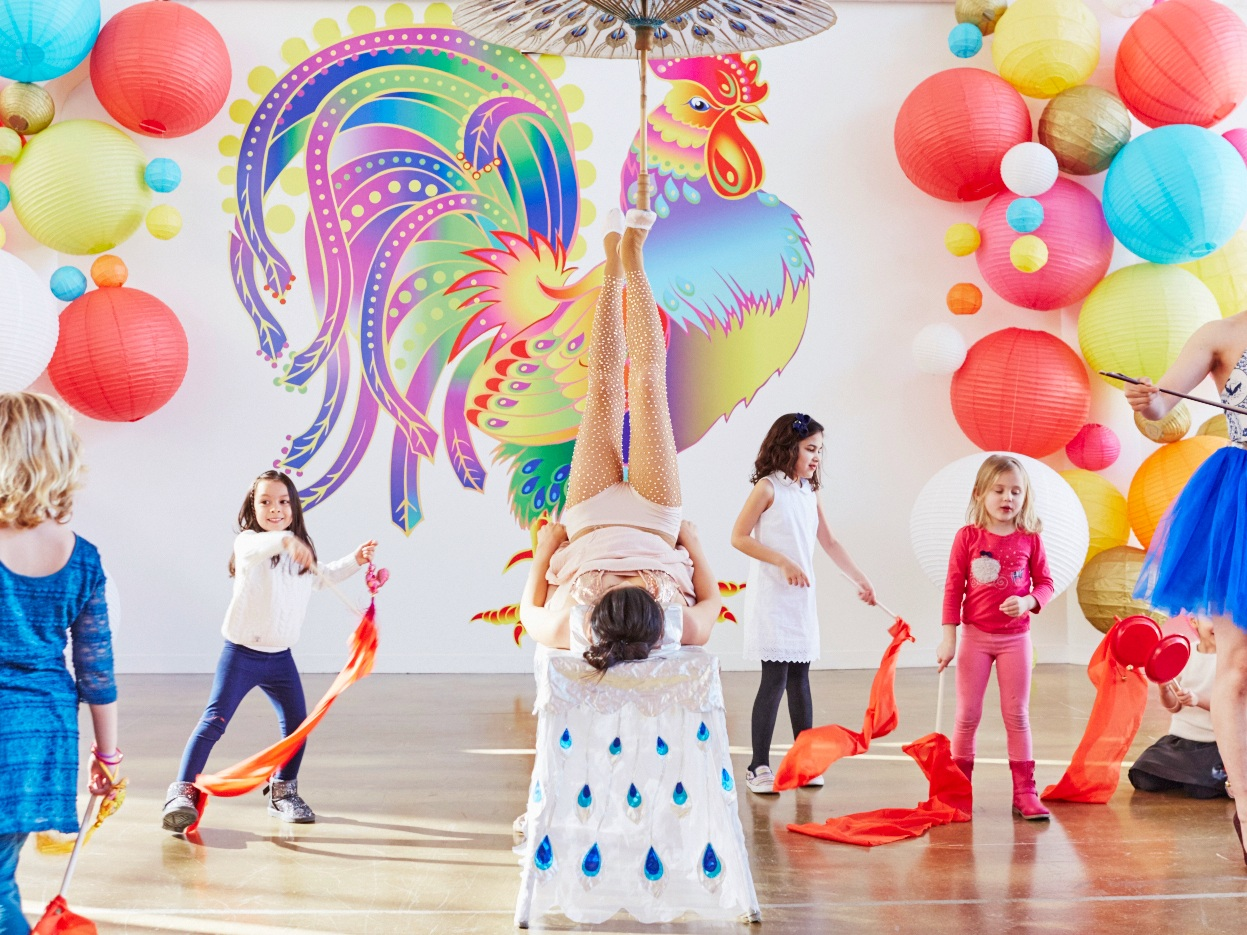 martha stewart chinese zodiac birthday party - A festive Chinese zodiac themed birthday party