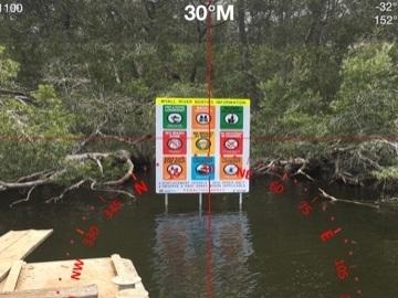 Marine Signage & Nav Aid poles -
