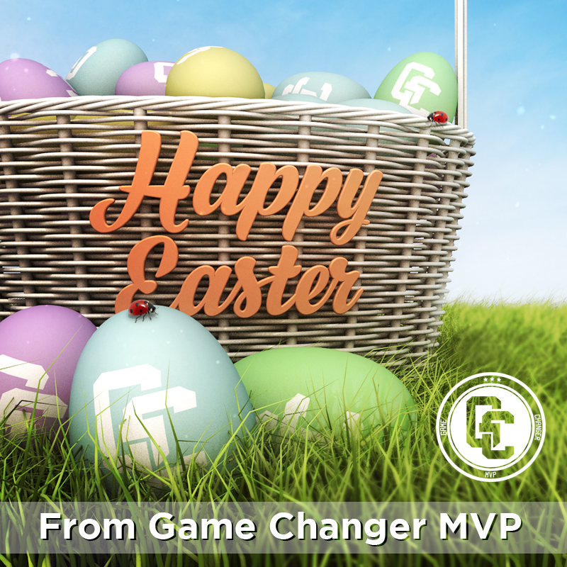 Game Changer Easter Graphic
