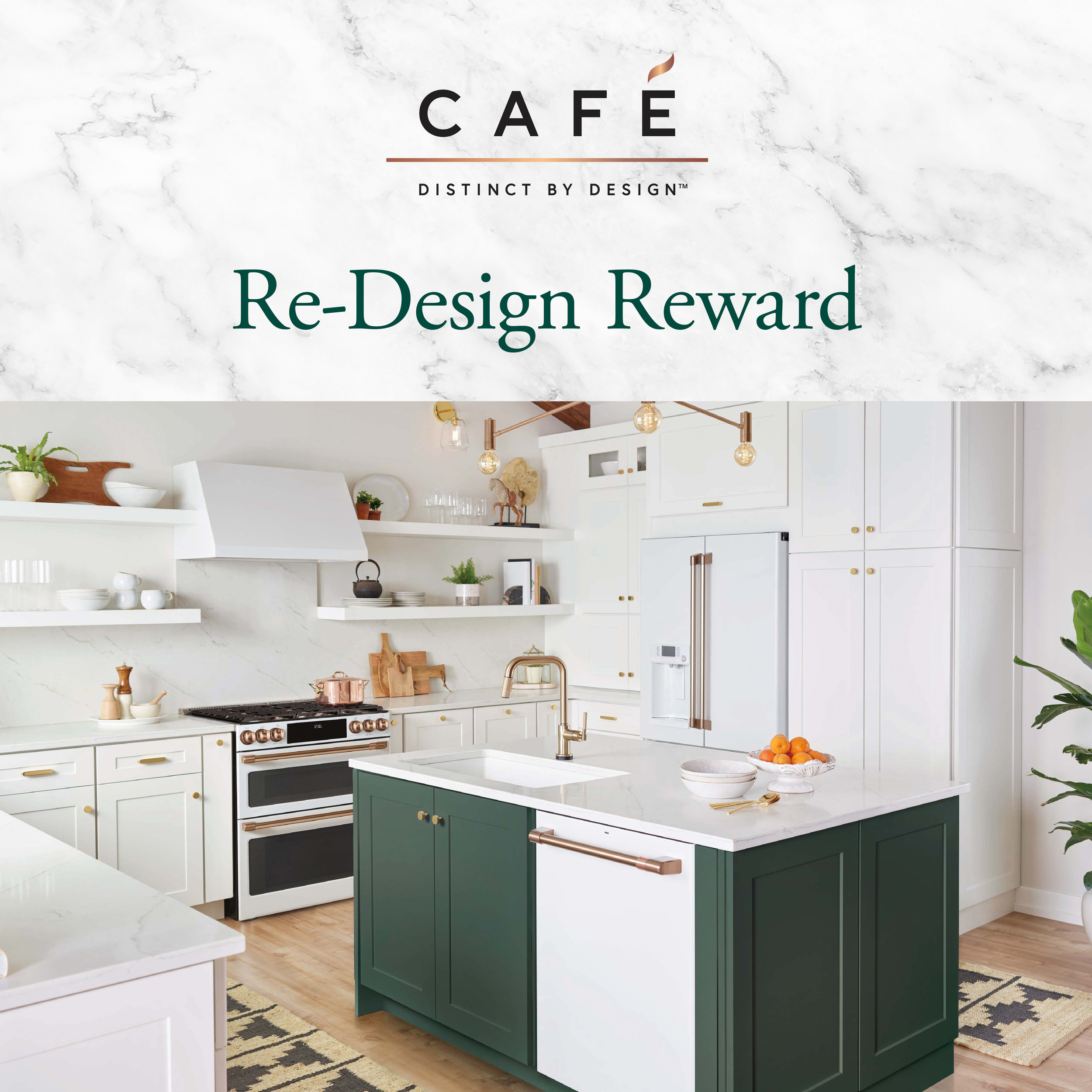 July 2nd to September 30th - Save 15% on any Cafe Appliance + receive a FREE dishwasher with the purchase of an eligible refrigerator and range. Visit us for more details!