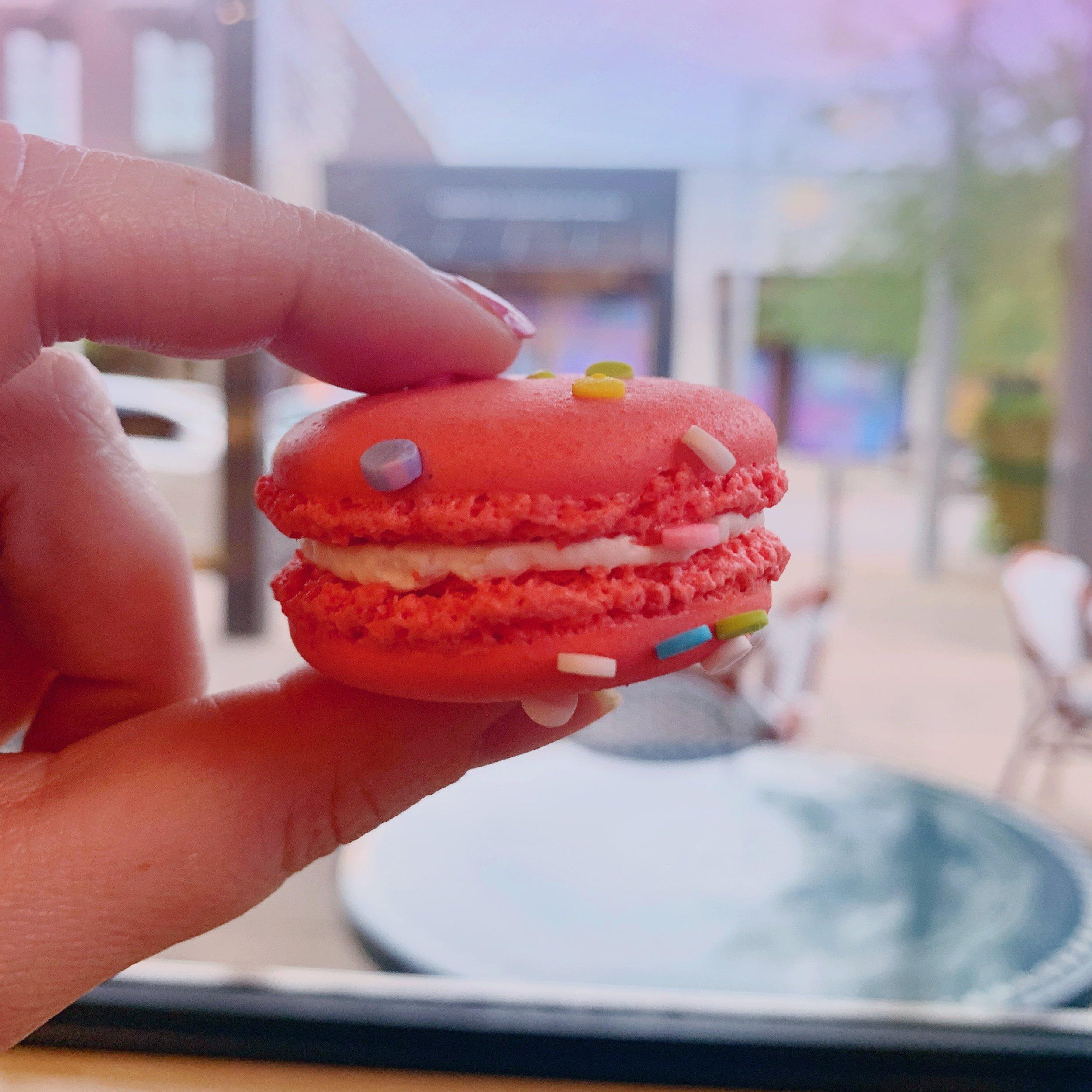 ginger me glam bakery lorraine taste testing1.JPG