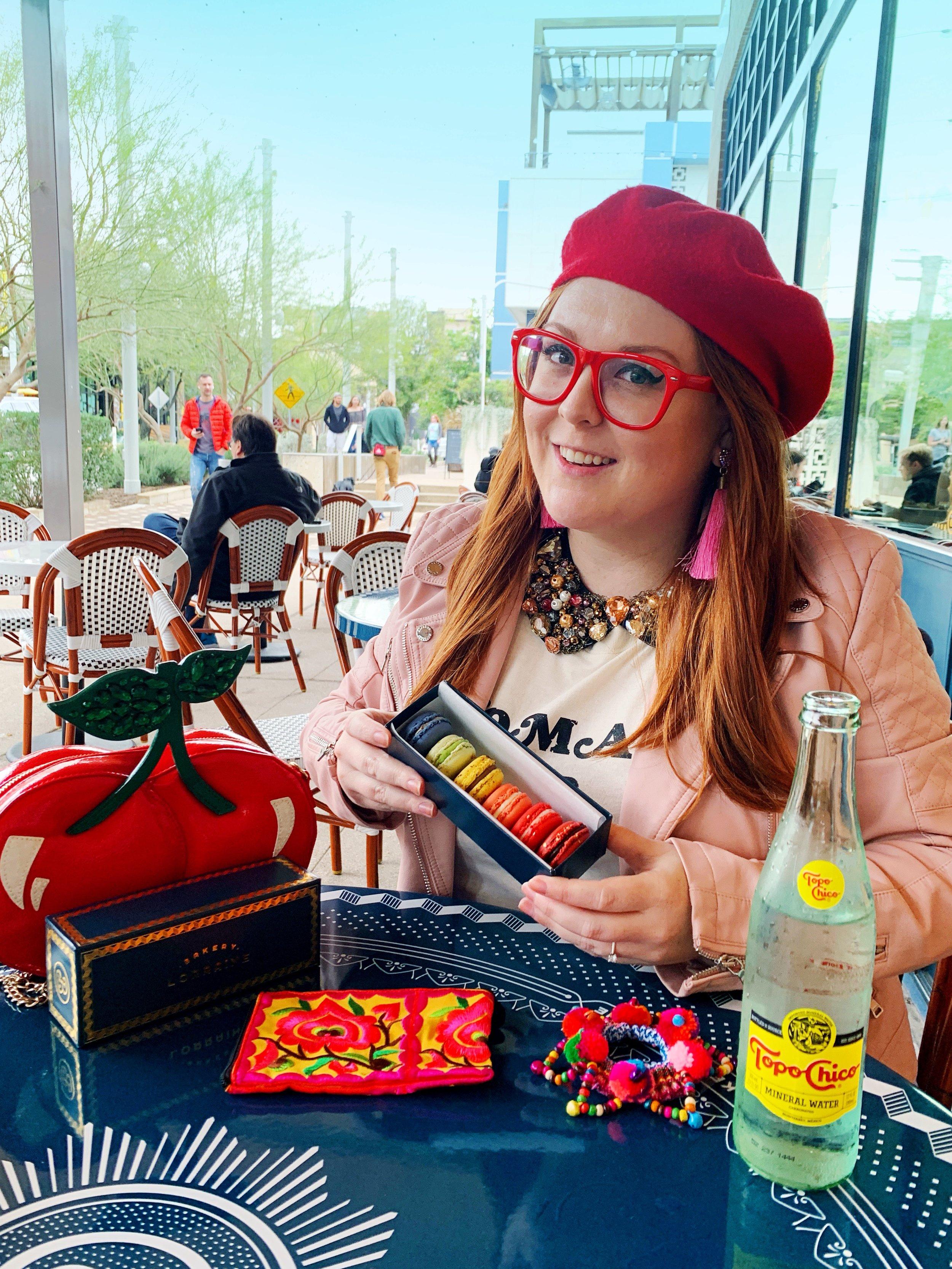 Ginger Me Glam Bakery Lorraine Sampling.JPG
