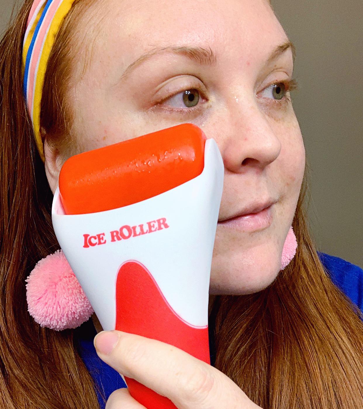 ginger me glam face roller review ice roller.JPG