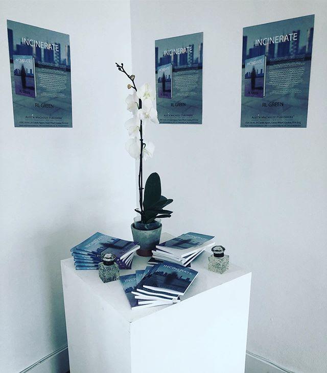 Incinerate is ready to Launch @austinmacauleypublishers @betterreadbookshop @whiterhinoartspace @fantastic_framing1 #writersonwriting #writers #emergingwriters #books #bookreviewsandnews #bookworm #bookaholic