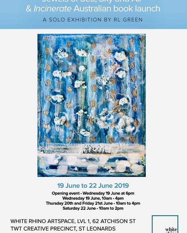 Jewels of Sea,Sky and Air and Incinerate Book Launch @whiterhinoartspace @austinmacauleypublishers @fantastic_framing1 @rachelcarrollartist @betterreadbookshop @booktopiabooks @amazonpublishing #emergingwriter #bookaholic #writersonwriting @eckersleys