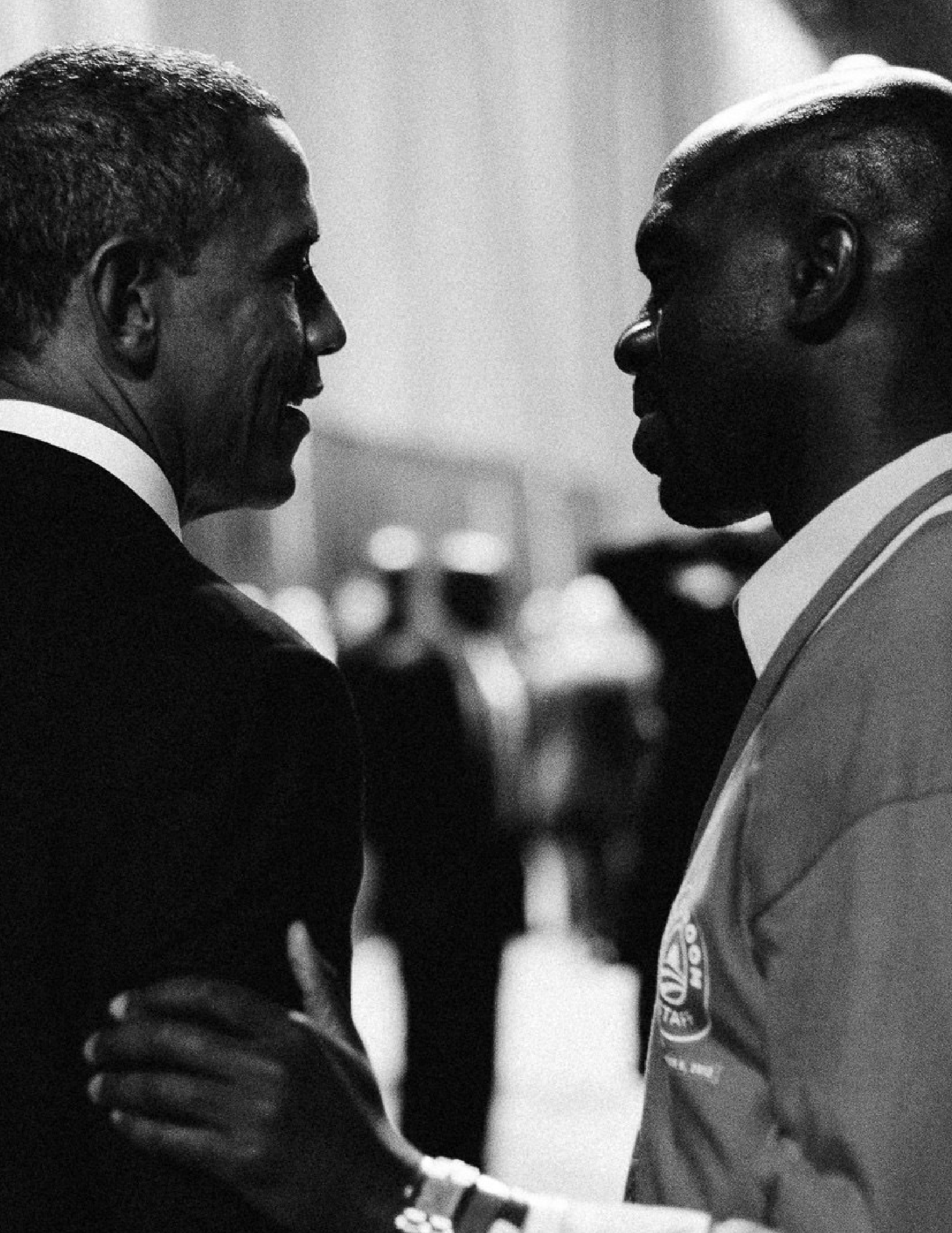 We wouldn't be here without Michael Blake—former President Barack Obama -