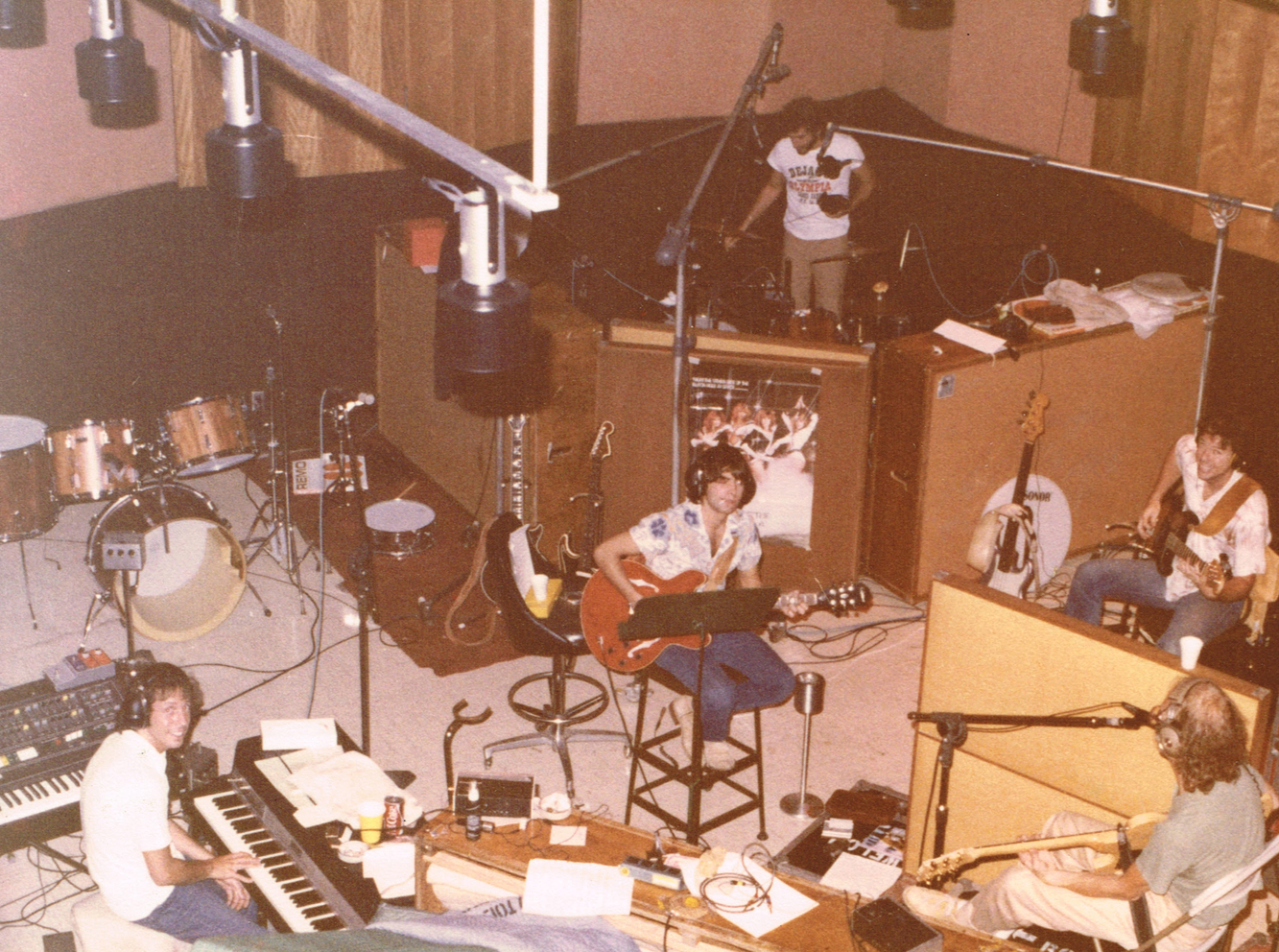 with Bob Welch, Capitol Studios, 1979