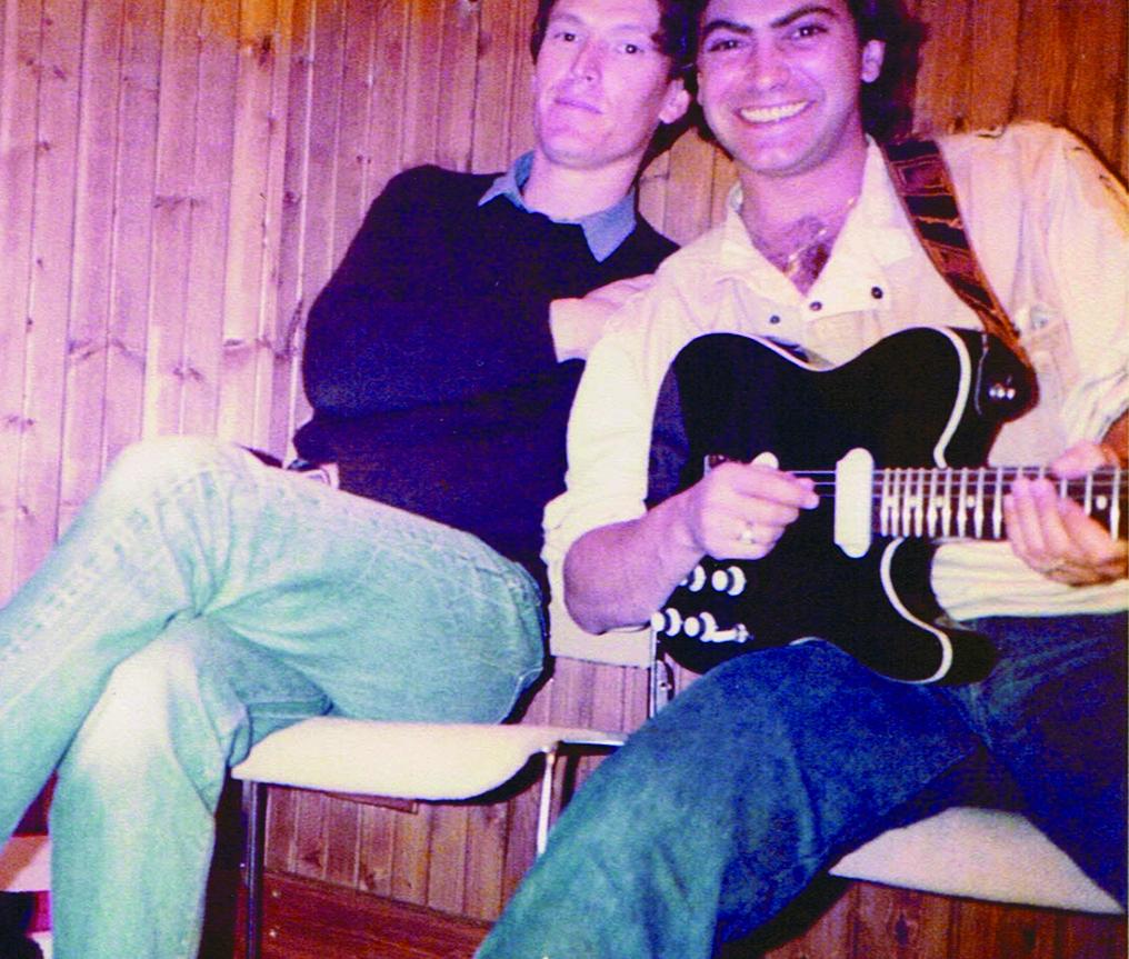 with Steve Winwood, 1983