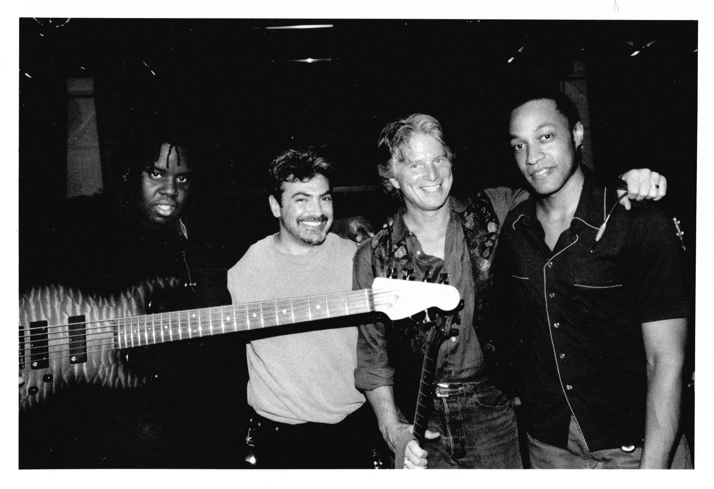 with Stephen Bruton & Band, 2001