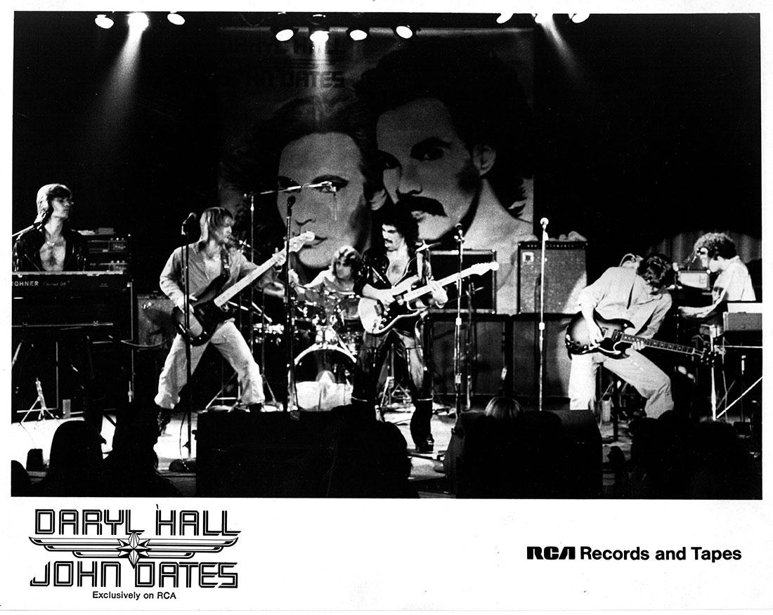 Daryl Hall & John Oates, 1976