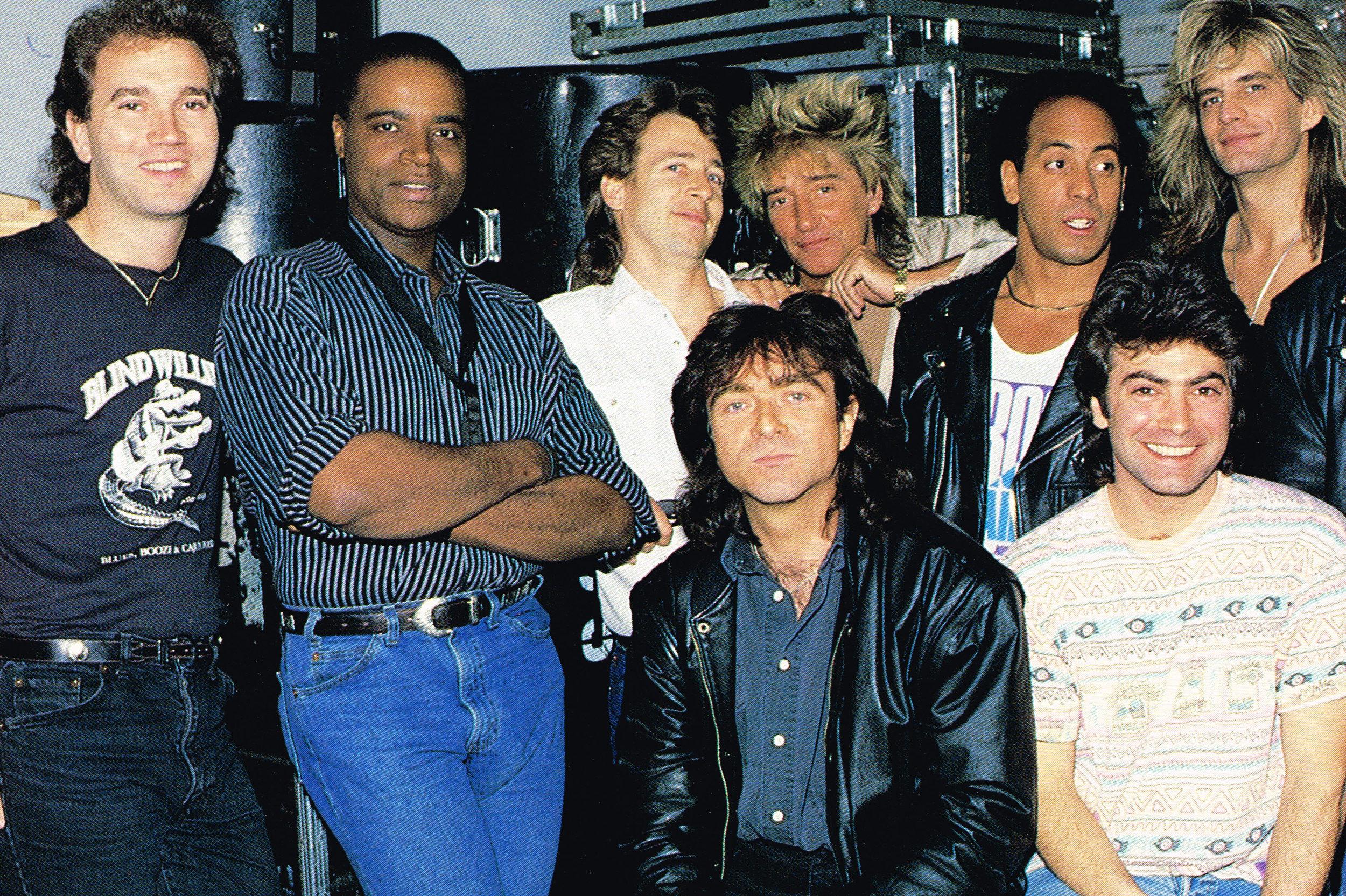 Rod Stewart Band, 1989
