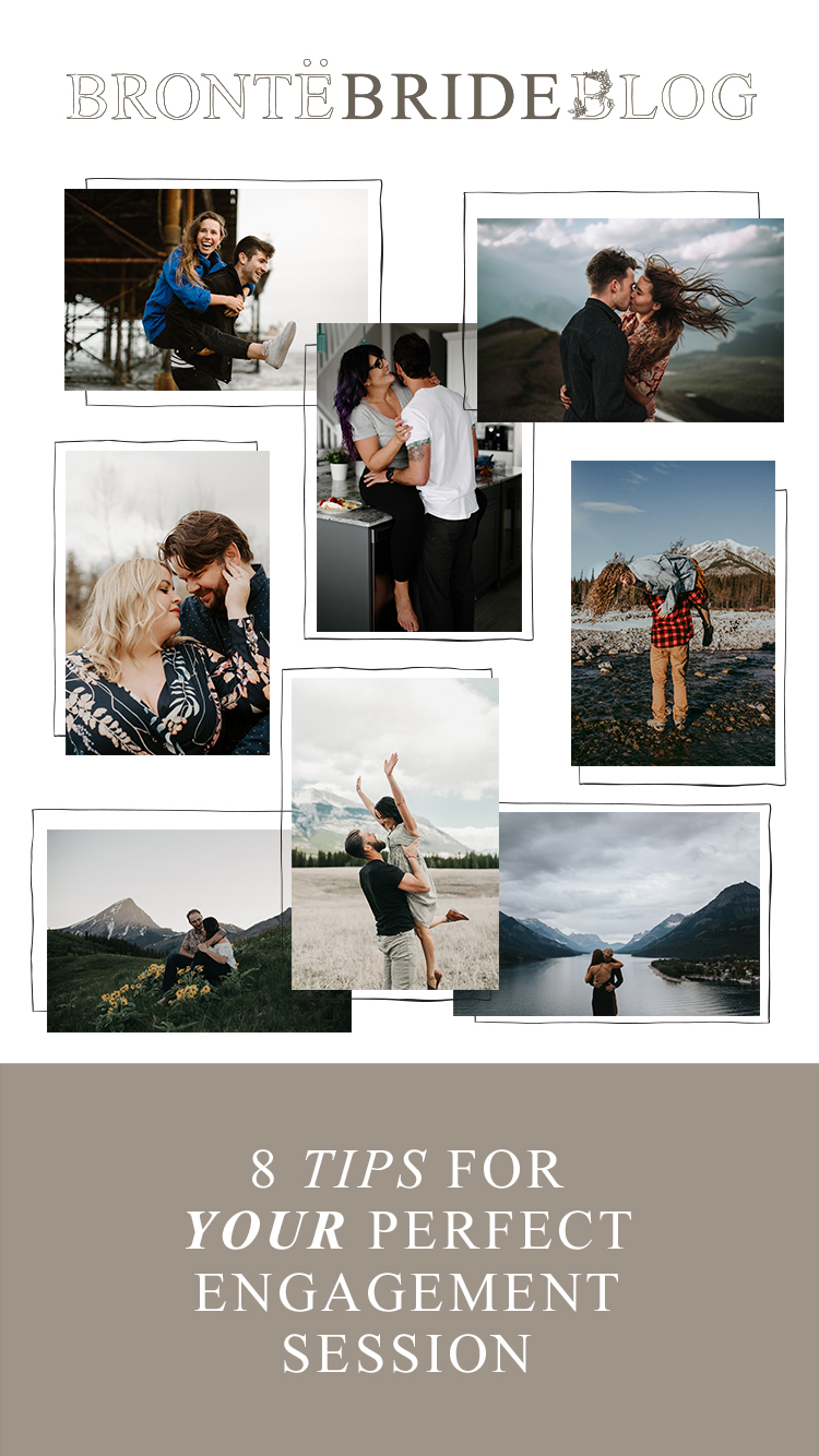 Bronte Bride - 8 Tips for YOUR Perfect Engagement Session | Pro Tips from Calgary Photographers