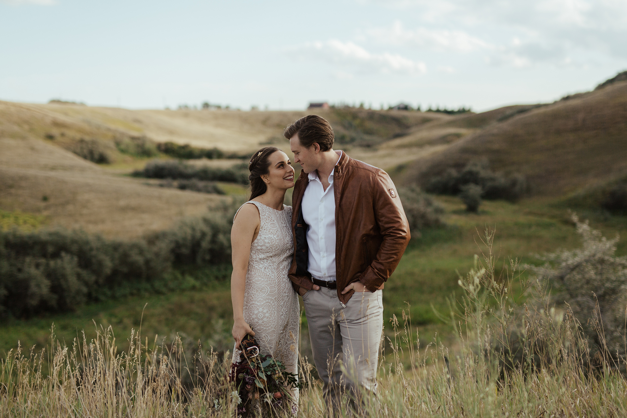 Becca and Reid's Countryside Vow Renewal// Styled Inspiration outside of Calgary, Alberta - Bronte Bride