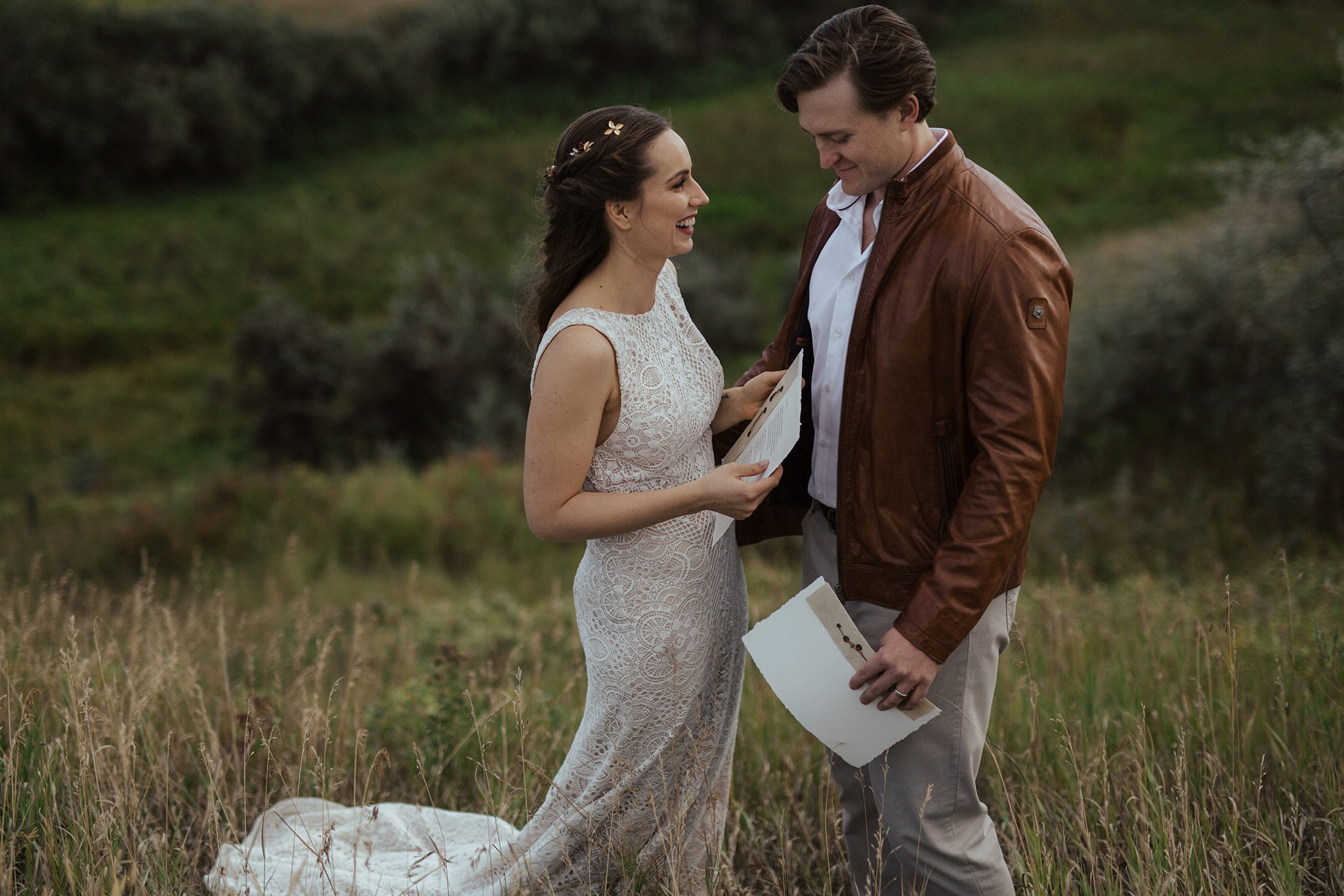 Becca and Reid's Countryside Vow Renewal // Styled Inspiration outside of Calgary, Alberta - Bronte Bride