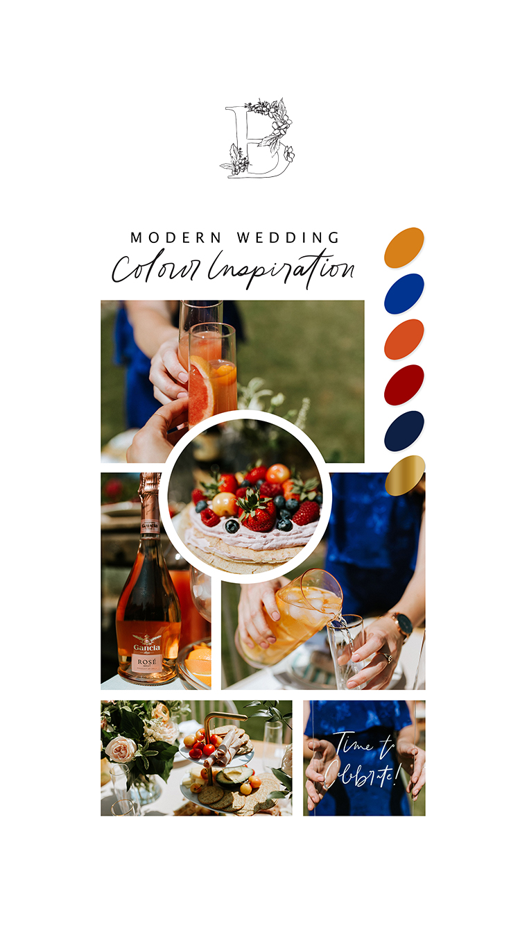 Hosting The Perfect Babe Brunch - Modern Wedding Colour Inspiration - Bronte Bride