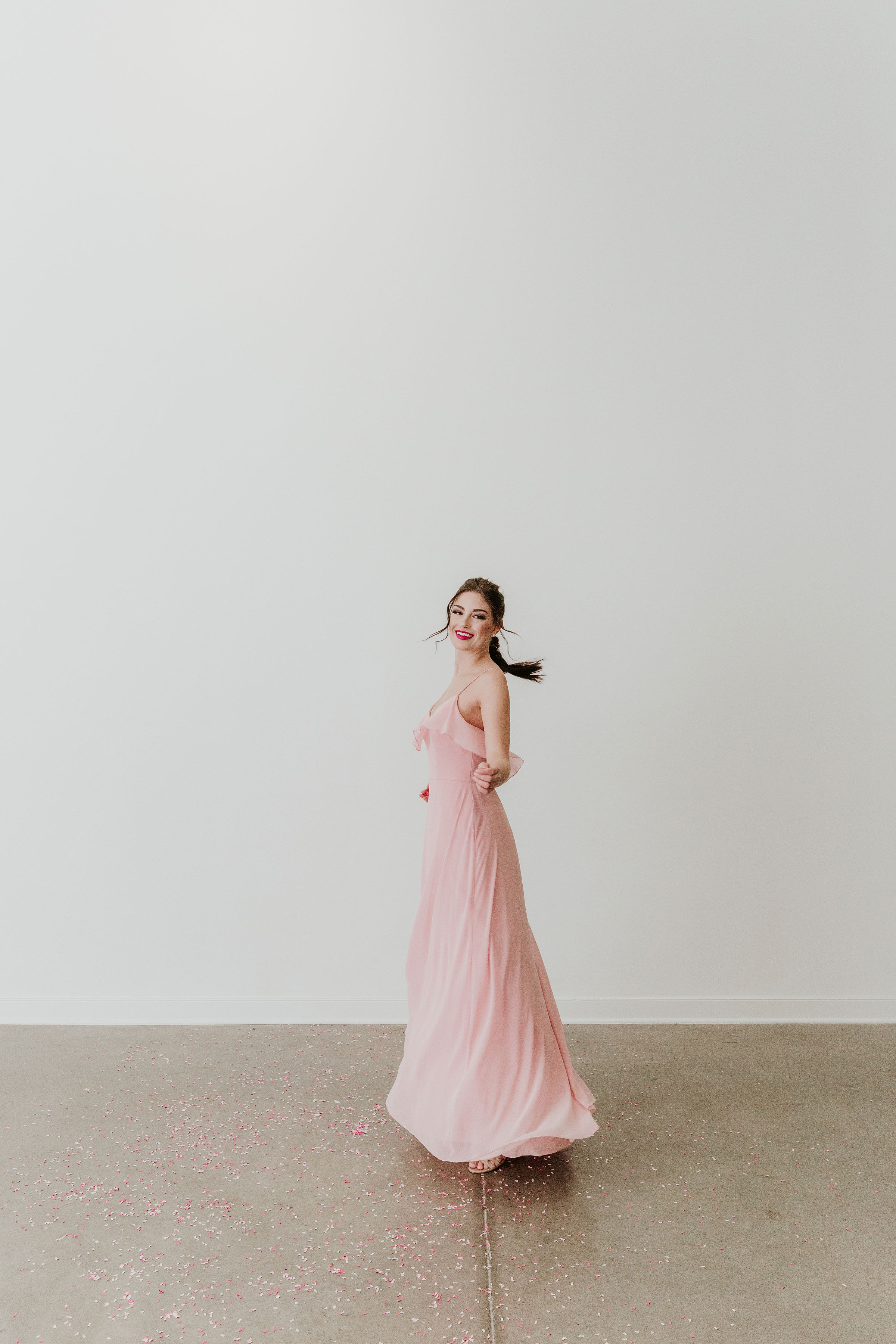 Bridesmaid Dress - Cameo & Cufflinks