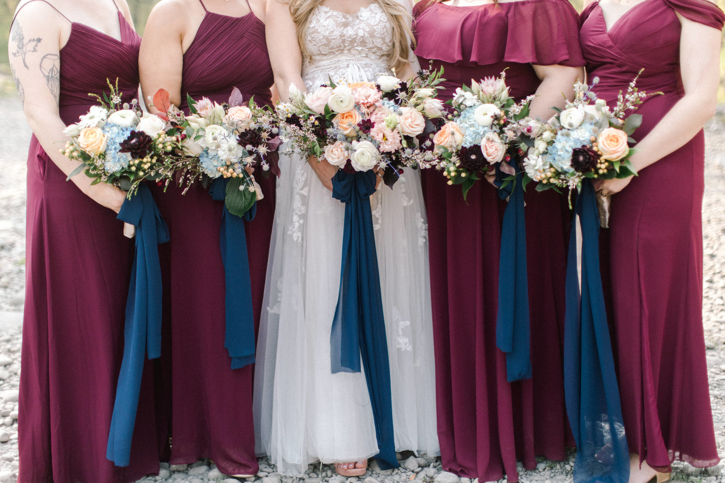 Bridal Party Bouquet Inspiration: 8 Bouquet Pictures Sure to Get You in the Mood For Wedding Season - Meadow and Vine on the Bronte Bride Blog