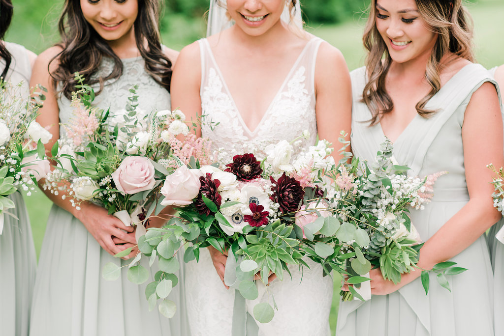 Bridal Party Bouquet Inspiration: 8 Bouquet Pictures Sure to Get You in the Mood For Wedding Season - Pine for Cedar on the Bronte Bride Blog