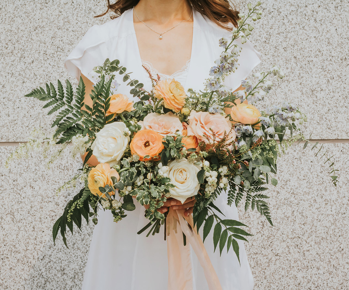 Bridal Bouquet Inspiration for Spring: 12 of the Prettiest Bouquets We've Seen This Spring in Alberta and the Rockies - Faint for Floral on The Bronte Bride